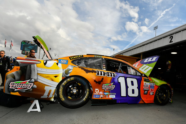 Monster Energy NASCAR Cup Series First Data 500 Martinsville Speedway, Martinsville VA USA Saturday 28 October 2017 Kyle Busch, Joe Gibbs Racing, M&M's Halloween Toyota Camry World Copyright: Scott R LePage LAT Images ref: Digital Image lepage-171028-mart-2609