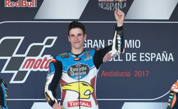 2017 Moto2 Championship - Round 4 Jerez, Spain Sunday 7 May 2017 Podium: race winner Alex Marquez, Marc VDS World Copyright: Gold & Goose Photography/LAT Images ref: Digital Image 668735