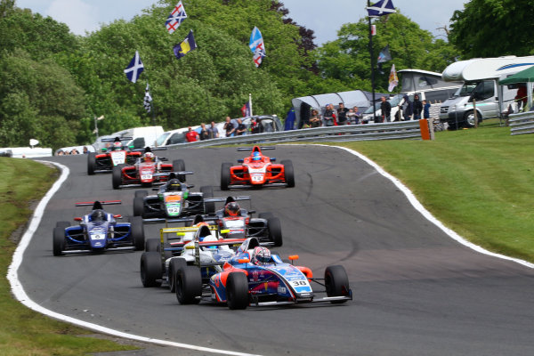 2017 British F4 Championship Oulton Park, 20th-21st May 2017, Jamie Caroline (GBR) Carlin British F4 World copyright. JEP/LAT Images