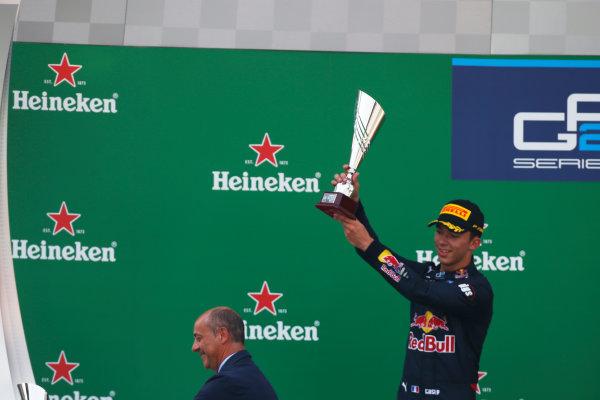 Pierre Gasly (FRA, PREMA Racing)   2016 GP3 Series Round 7 Autodromo Nazionale di Monza, Italy. Sunday 4 September 2016  Photo: /GP3 Series Media Service ref: Digital Image _SLA7974
