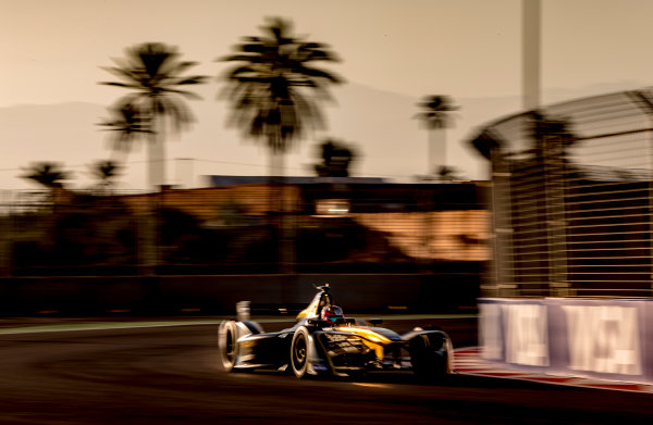 2016/2017 FIA Formula E Championship. Marrakesh ePrix, Circuit International Automobile Moulay El Hassan, Marrakesh, Morocco. Saturday 12 November 2016. Jean-Eric Vergne (FRA), Techeetah, Spark-Renault, Renault Z.E 16.  Photo: Zak Mauger/Jaguar Racing ref: Digital Image _X0W5469