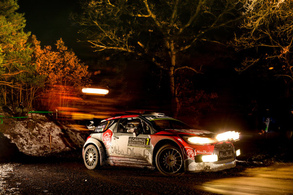 2016 FIA World Rally Championship, Round 01, Rally Monte Carlo, 21st - 24th January, 2016 Kris Meeke, Citroen, action Worldwide Copyright: McKlein/LAT