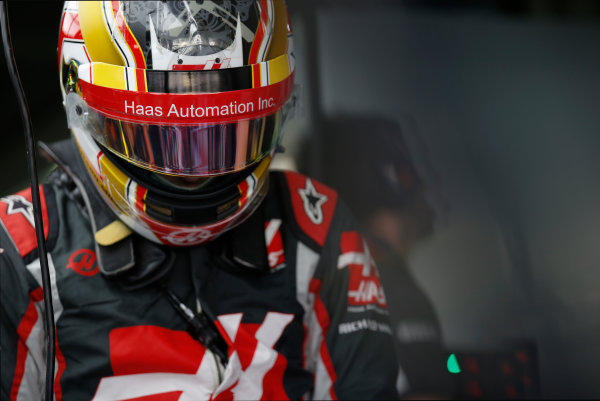 Hockenheim, Germany. Friday 29 July 2016. Charles Leclerc, test and development driver, Haas F1. World Copyright: Sam Bloxham/LAT Photographic ref: Digital Image _SLA9826