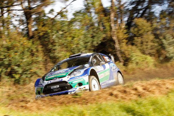 Round 7, Rally New Zealand, 21st-24th June 2012 Jari-Matti Latvala, Ford Fiesta, Action. Worldwide Copyright: McKlein/LAT Photographic.