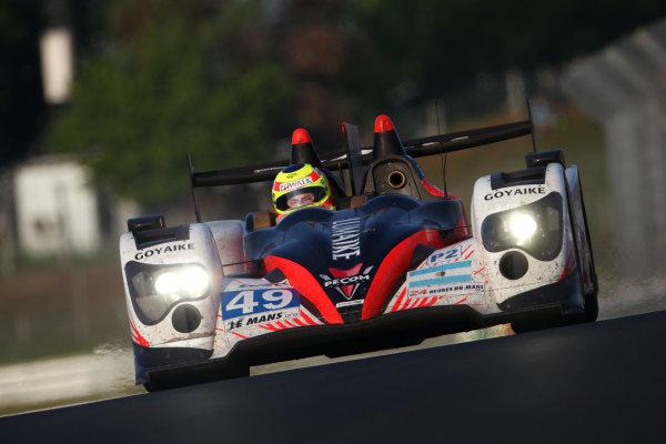 Circuit de La Sarthe, Le Mans, France. 13th - 17th June 2012. RaceLuis Perez-Comapnc/Pierre Kaffer/Soheil Ayari, Pecom Racing, No 49 ORECA 03 - Nissan. Photo: Daniel Kalisz/LAT Photographic. ref: Digital Image IMG_9580