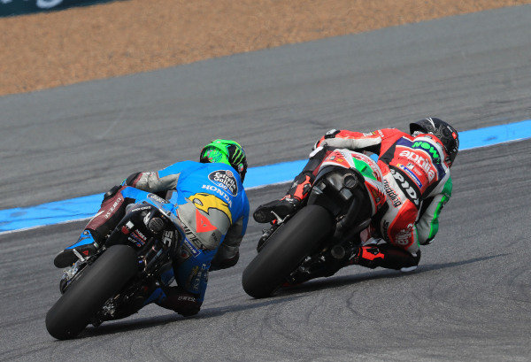 Scott Redding, Aprilia Racing Team Gresini, Franco Morbidelli, Estrella Galicia 0,0 Marc VDS.