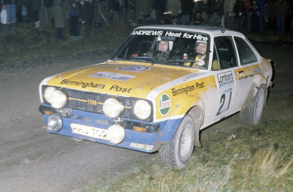 Russell Brookes / John Brown, Ford Escort RS1800.
