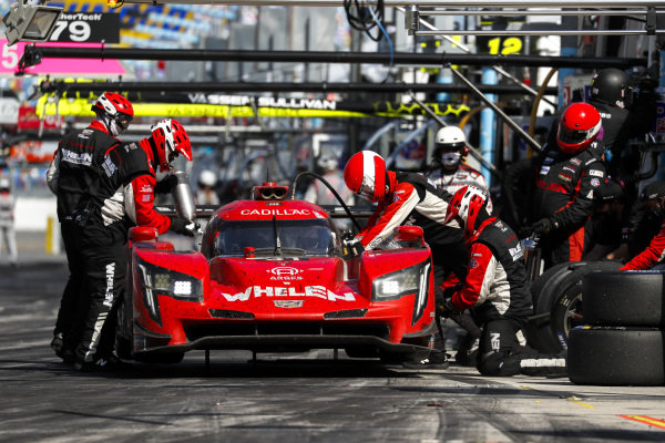 #31 Whelen Engineering Racing Cadillac DPi, DPi: Pit Stop, Chase Elliott, Mike Conway, Felipe Nasr, Pipo Derani