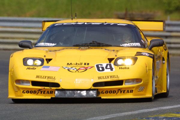 2001 Le Mans Test WeekendLe Mans, France. 4th -6th May 2001.Corvette test actionWorld Copyright:Lorenzo Bellanca/LAT Photographicref:Digital image only