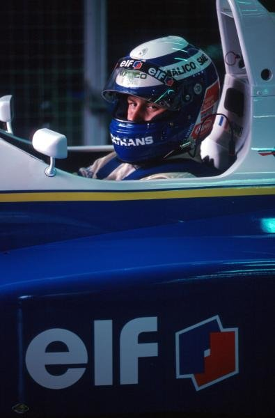 Championship leader Olivier Panis (FRA) DAMS Reynard 93D Cosworth AC finished tenth after spinning into retirement three laps from the end of the race.