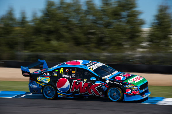 2015 V8 Supercars Round 12. Auckland 500, Pukekohe Park Raceway, Auckland, New Zealand. Friday 6th November - Sunday 8th November 2015. Cameron Waters drives the #6 Pepsi Max Crew PRA Ford FG X Falcon. World Copyright: Daniel Kalisz/LAT Photographic  Ref: Digital Image V8SCR12_AUCKLAND500_DKIMG0266.JPG