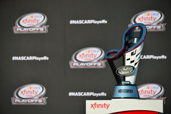 NASCAR XFINITY Series TheHouse.com 300 Chicagoland Speedway, Joliet, IL USA Saturday 16 September 2017 Xfinity Series trophy World Copyright: Logan Whitton LAT Images