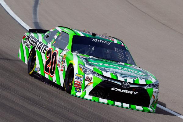 2017 NASCAR Xfinity Series - Boyd Gaming 300 Las Vegas Motor Speedway - Las Vegas, NV USA Friday 10 March 2017 Daniel Suarez, Interstate Batteries Toyota Camry World Copyright: Russell LaBounty/LAT Images ref: Digital Image 17LAS1rl_0882