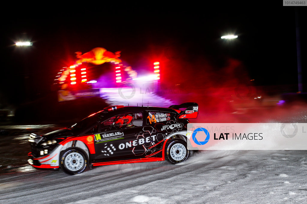 2017 FIA World Rally Championship, Round 02, Rally Sweden, February 09-12, 2017, Mads Ostberg, Ford, Action, Worldwide Copyright: McKlein/LAT