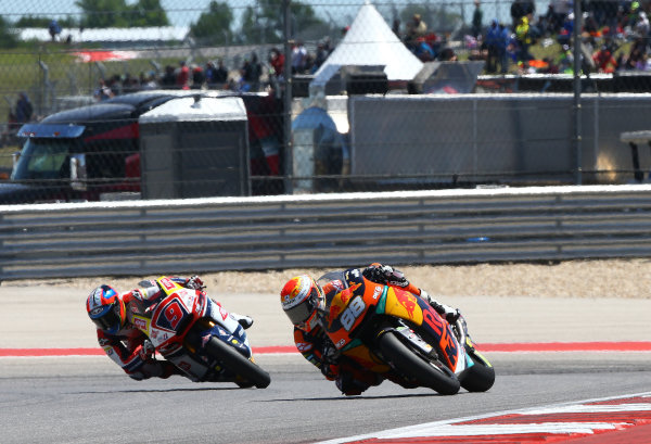 2017 Moto2 Championship - Round 3 Circuit of the Americas, Austin, Texas, USA Sunday 23 April 2017 Ricard Cardus, Red Bull KTM Ajo World Copyright: Gold and Goose Photography/LAT Images ref: Digital Image Moto2-R-500-2975