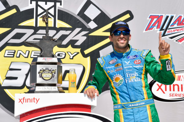 NASCAR Xfinity Series Sparks Energy 300 Talladega Superspeedway, Talladega, AL USA Saturday 6 May 2017 Aric Almirola, Fresh From Florida Ford Mustang World Copyright: Rusty Jarrett LAT Images ref: Digital Image 17TAL1rj_2663