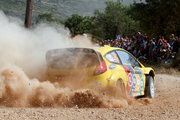 Round 07 Acropolis Rally. 16th - 19th June 2011.Henning Solberg, Ford WRC, Action.Worldwide Copyright: McKlein/LAT