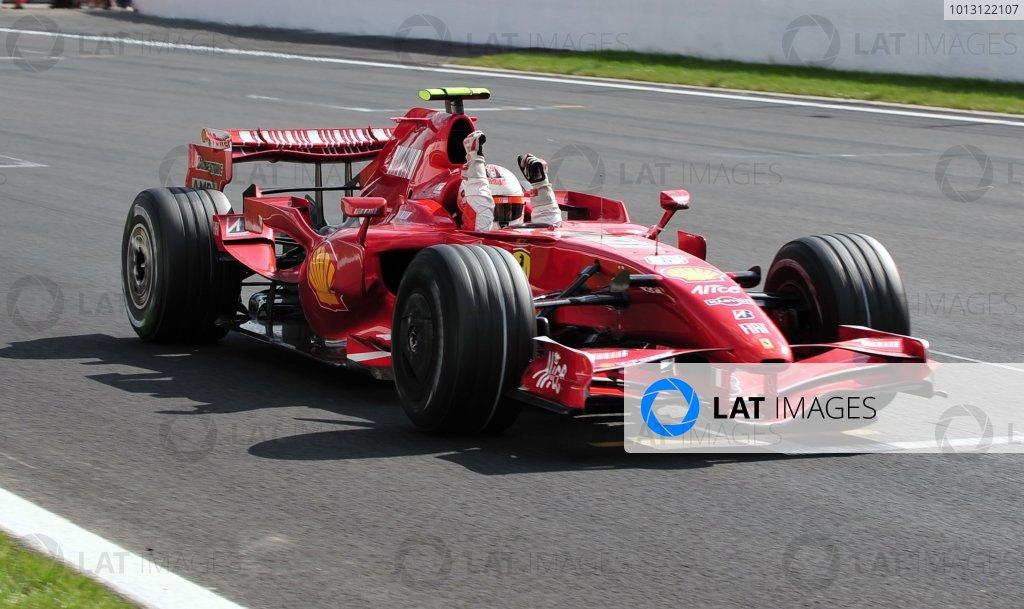 2007 Belgian Grand Prix - Sunday Race