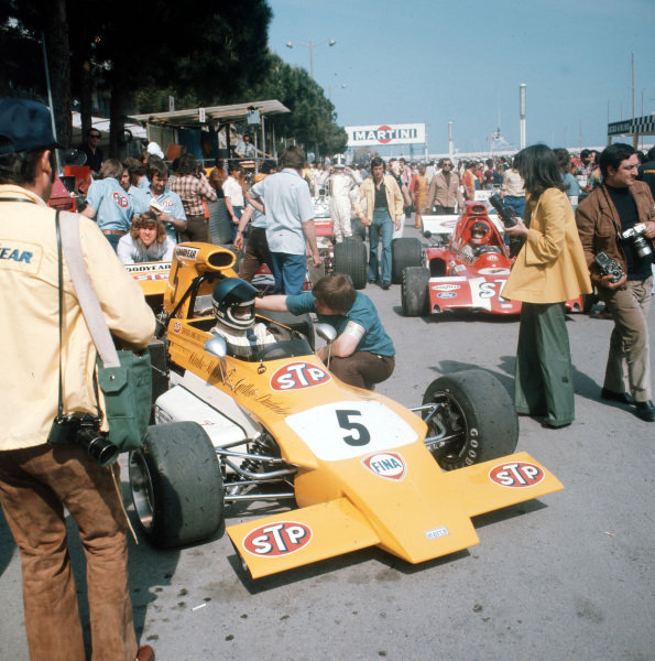 Monte Carlo, Monaco.11-14 May 1972.Mike Beuttler (March 721G Ford).Ref- 5067. World Copyright - LAT Photographic
