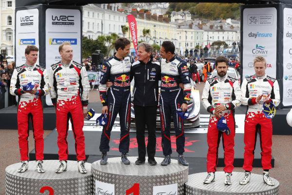 Malcom Wilson, Sébastien Ogier, Julien Ingrassia, M-Sport Ford, Ford Fiesta WRC 2018,