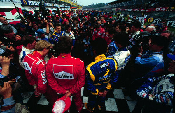 1995 San Marino Grand Prix.
