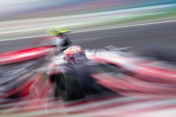 Heikki Kovalainen, McLaren MP4-23 Mercedes.
