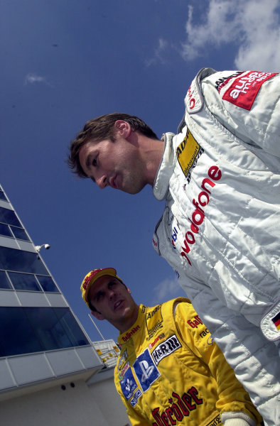 2002 DTM ChampionshipSachsenring, Germany. 1st - 2nd June 2002.World Copyright: Andre Irlmeier/LAT Photographic