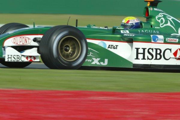 Mark Webber (AUS) Jaguar R4.Formula One World Championship, Rd1, Australian Grand Prix, Albert Park, Melbourne, Australia, 7 March 2003.DIGITAL IMAGE
