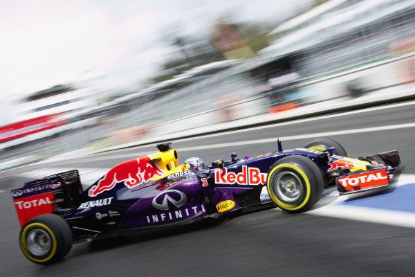 Daniel Ricciardo, Red Bull RB11 Renault.
