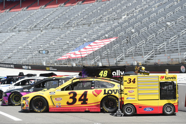 Michael McDowell, Front Row Motorsports Ford Love's Travel Stops, Copyright: Jared C. Tilton/Getty Images.