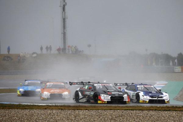 Mike Rockenfeller, Audi Sport Team Phoenix, Audi RS 5 DTM, Joel Eriksson, BMW Team RBM, BMW M4 DTM.