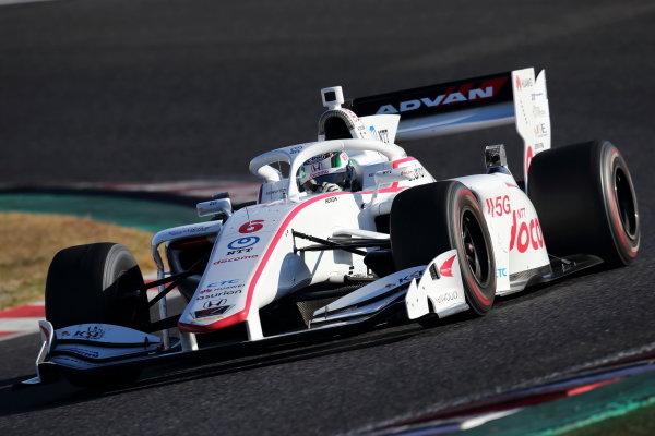 Nirei Fukuzumi  ( #6 DOCOMO TEAM DANDELION RACING ), Dallara SF Honda, 2nd in round six. Photo: Yukio Yoshimi