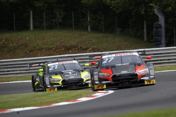 Jonathan Aberdein, Audi Sport Team WRT, Audi RS 5 DTM, Pietro Fittipaldi, Audi Sport Team WRT, Audi RS 5 DTM.
