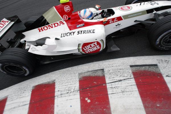 2004 Belgian Grand Prix - Friday Practice,Spa-Francorchamps, Belgium. 27th August 2004 Anthony Davidson, BAR Honda 006, action.World Copyright: Steve Etherington/LAT Photographic ref: Digital Image Only