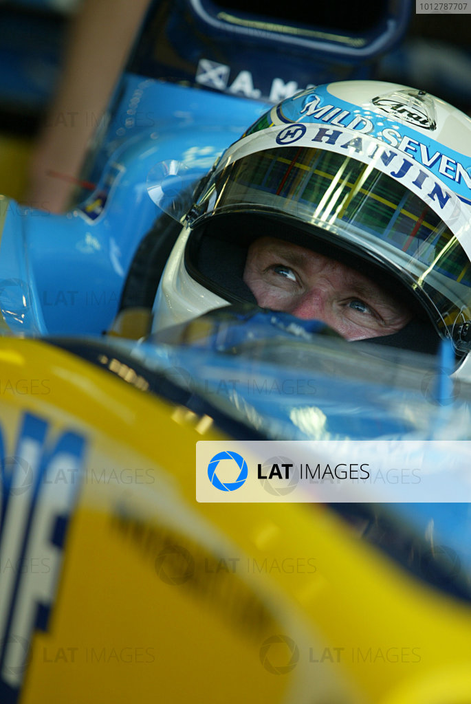 2003 San Marino Grand Prix - Friday 1st QualifyingImola