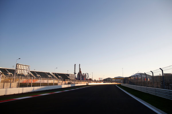 Sochi Autodrom, Sochi, Russia. Thursday 9 October 2014. A view of the new circuit. World Copyright: Glenn Dunbar/LAT Photographic. ref: Digital Image _89P0045