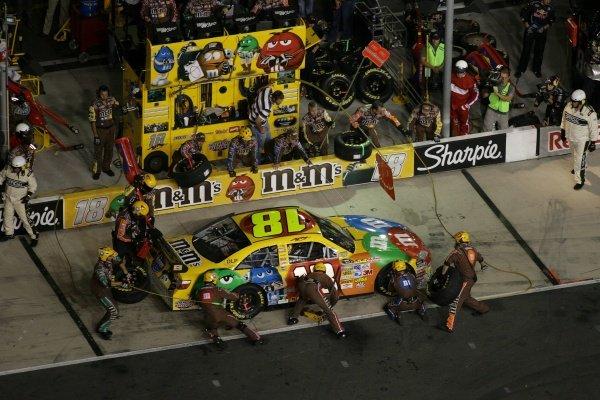 Kyle Busch (USA) M&M's Toyota. Sharpie 500, Bristol Motor Speedway, Tennessee, USA, 22-24 August 2008.