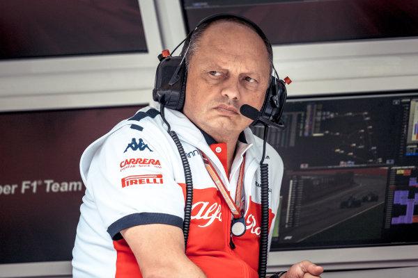 Frederic Vasseur (FRA) Alfa Romeo Sauber F1 Team, Team Principal