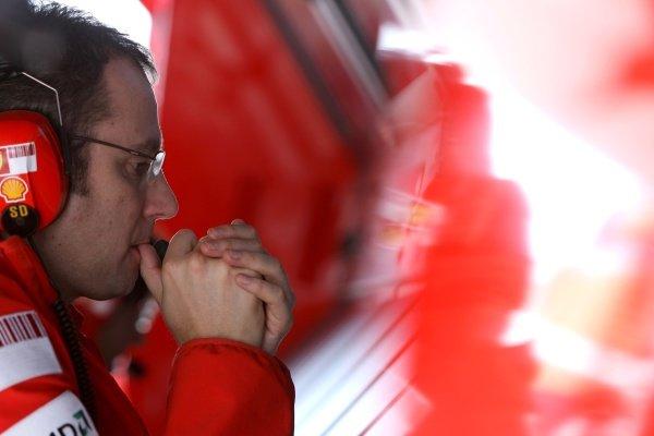 Stefano Domenicali (ITA) Ferrari Manager of F1 Operations. Formula One World Championship, Rd 18, Brazilian Grand Prix, Practice Day, Interlagos, Sao Paulo, Brazil, Friday 31 October 2008.