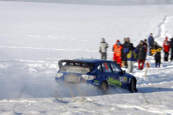 Round 02Rally Norway 12-15 February 2009Mads Ostberg, Subaru, ActionWorldwide Copyright: McKlein/LAT