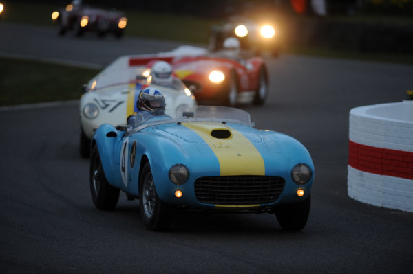 2016 74th Members Meeting Goodwood Estate, West Sussex,England 19th - 20th March 2016 Race 12 Peter Collins Trophy Mark Donaldson Ferrari World Copyright : Jeff Bloxham/LAT Photographic Ref : Digital Image