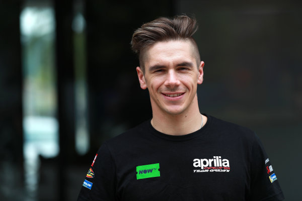 2018 MotoGP Championship - Sepang test, Malaysia Sunday 28 January 2018 Scott Redding, Aprilia Racing Team Gresini World Copyright: Gold and Goose / LAT Images ref: Digital Image 708718