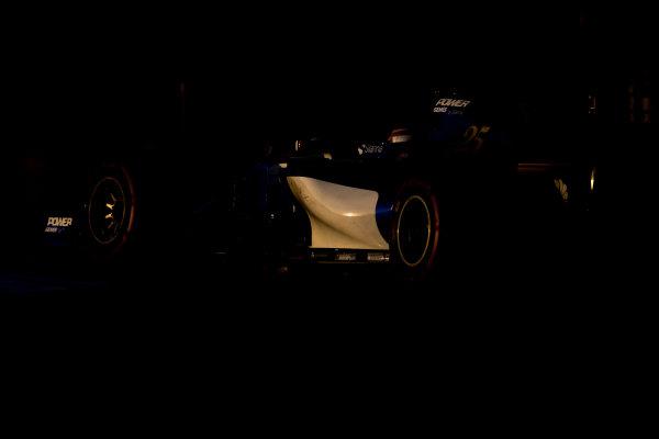 Yas Marina Circuit, Abu Dhabi, United Arab Emirates. Wednesday 29 November 2017. Charles Leclerc, Sauber C36 Ferrari.  World Copyright: Zak Mauger/LAT Images  ref: Digital Image _56I7018