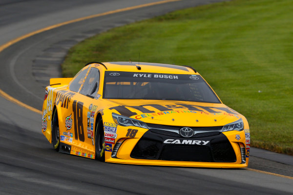 3-5 June, 2016, Long Pond, Pennsylvania USA Kyle Busch, M&M's 75th Anniversary Toyota Camry ?2016, Russell LaBounty LAT Photo USA