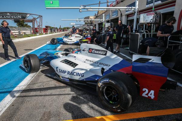 Le Castellet (FRA) JUN 24-26 2016 - Forth round of the Formula V8 3.5 series at circuit Paul Ricard. Matevos Isaakyan #23 SMP Racing. Action. © 2016 Diederik van der Laan  / Dutch Photo Agency / LAT Photographic