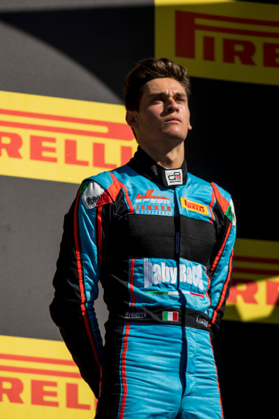 2017 GP3 Series Round 1.  Circuit de Catalunya, Barcelona, Spain. Sunday 14 May 2017. Alessio Lorandi (ITA, Jenzer Motorsport)  Photo: Zak Mauger/GP3 Series Media Service. ref: Digital Image _54I9472