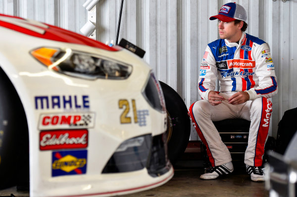 Monster Energy NASCAR Cup Series Toyota Owners 400 Richmond International Raceway, Richmond, VA USA Saturday 29 April 2017 Ryan Blaney, Wood Brothers Racing, Motorcraft/Quick Lane Tire & Auto Center Ford Fusion World Copyright: Nigel Kinrade LAT Images ref: Digital Image 17RIC1nk05362