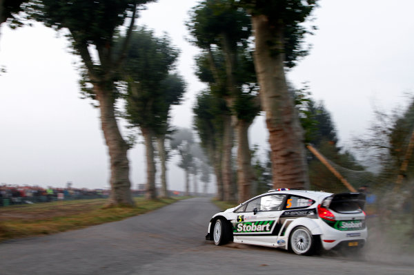 Round 11-Rallye de France. Matthew Wilson, Ford WRC, Action.Worldwide Copyright: McKlein/LAT