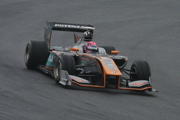 2014 Super Formula Series. Fuji, Japan. 11th - 13th July 2014. Rd 3. 3rd position Yuji Kunimoto ( #39 P.MU / CERUMO?INGING SF14 ), action. World Copyright: Yasushi Ishihara / LAT Photographic. Ref: 2014SF_Rd3_018.JPG