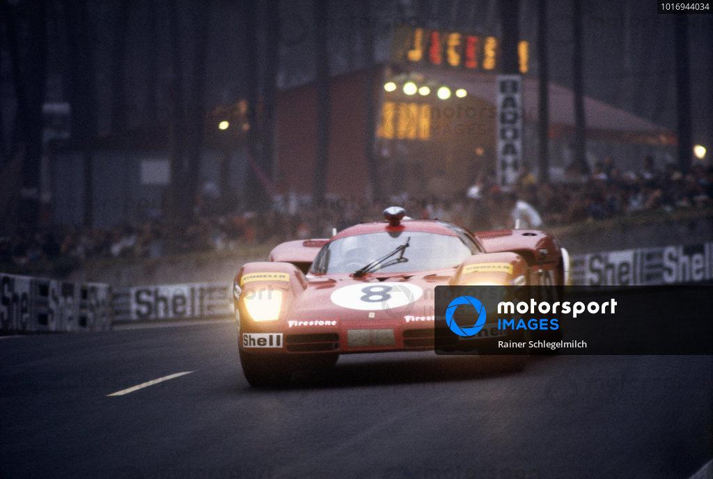 Arturo Merzario / Clay Regazzoni, SEFAC Ferrari, Ferrari 512 S.